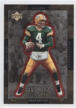 1996 Upper Deck - Hot Properties - Gold #HT-4 - Brett Favre, Rick Mirer