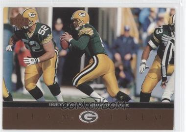 1996 Upper Deck - Team Trio #TT50 - Brett Favre