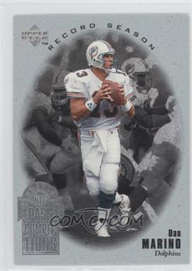 1996 Upper Deck Silver Collection - Dan Marino Record Season #RS1 - Dan Marino