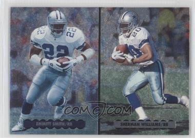 1996 Upper Deck Silver Collection - Helmet Cards #NE5 - Emmitt Smith, Sherman Williams