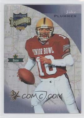 1997 Absolute Beginnings - [Base] - Gold Redemption #142 - Jake Plummer
