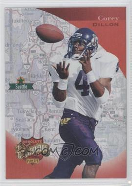 1997 Absolute Beginnings - [Base] - Gold Redemption #166 - Corey Dillon