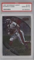 Warrick Dunn [PSA 10 GEM MT]