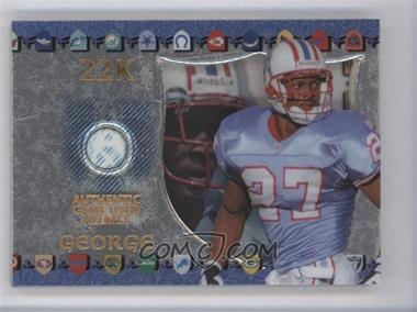 1997 Collector's Edge Excalibur - Game Gear #9 - Eddie George