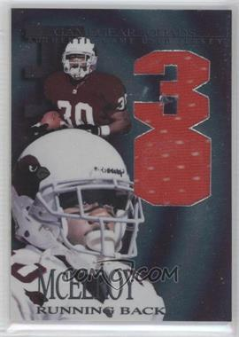1997 Collector's Edge Extreme - Game Gear Quads Game-Used #14 - Leeland McElroy