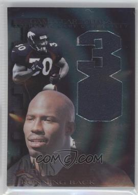 1997 Collector's Edge Extreme - Game Gear Quads Game-Used #7 - Terrell Davis