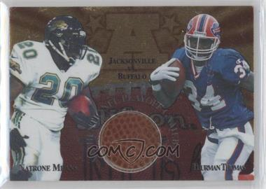 1997 Collector's Edge Masters - Gameball #1 - Natrone Means, Thurman Thomas