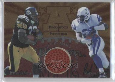 1997 Collector's Edge Masters - Gameball #3 - Jerome Bettis, Marshall Faulk