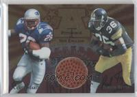 Curtis Martin, Jerome Bettis