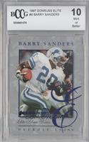 Barry Sanders /5000 [BCCGMint]