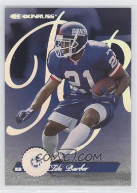 1997 Donruss - Rated Rookie #7 - Tiki Barber