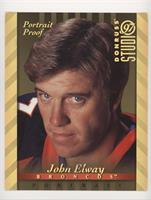 John Elway [Noted] #/1,000