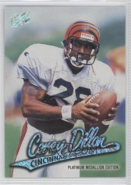 1997 Fleer Ultra - [Base] - Platinum Medallion Edition #P287 - Corey Dillon