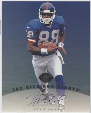 1997 Leaf Signature - Authentic Signature #IKHI - Ike Hilliard