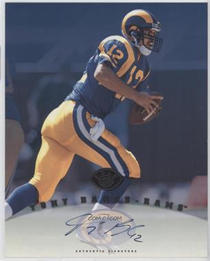 1997 Leaf Signature - Authentic Signature #TOBA - Tony Banks