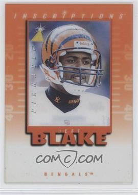 1997 Pinnacle Inscriptions - Signatures - Unsigned #JEBL - Jeff Blake