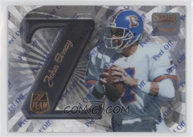 1997 Pinnacle Zenith - Z-Team #ZT4 - John Elway