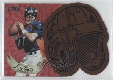 1997 Playoff Contenders - Leather Helmets - Red #13 - John Elway /25