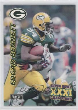 1997 Playoff Green Bay Packers Super Sunday - Box Set [Base] #13 - Edgar Bennett