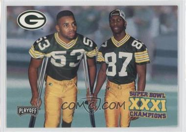 1997 Playoff Green Bay Packers Super Sunday - Box Set [Base] #35 - Green Bay Packers Team
