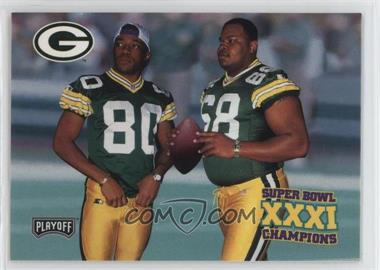 1997 Playoff Green Bay Packers Super Sunday - Box Set [Base] #36 - Gary Brown, Derrick Mayes, Gary L. Brown