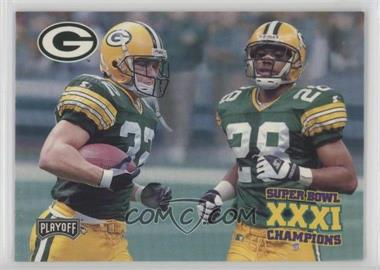 1997 Playoff Green Bay Packers Super Sunday - Box Set [Base] #39 - Travis Jervey, Roderick Mullen