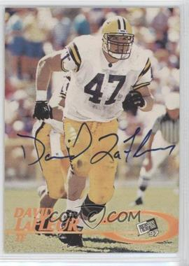 1997 Press Pass - Certified Authentic Autographs #DALA - David LaFleur
