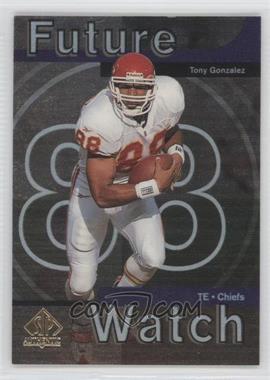 1997 SP Authentic - [Base] #11 - Tony Gonzalez
