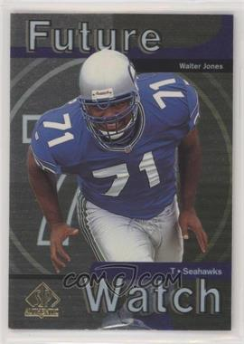 1997 SP Authentic - [Base] #6 - Walter Jones