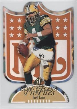 1997 SP Authentic - Profiles - Die-Cut #P-4 - Brett Favre