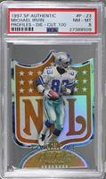 Michael Irvin /100 [PSA 8 NM‑MT]