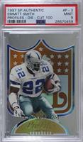 Emmitt Smith [PSA 9 MINT] #/100