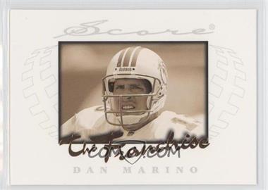 1997 Score - The Franchise #7 - Dan Marino