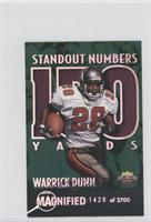 Warrick Dunn #/2,700