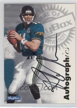 1997 Skybox Premium - Autographics #ROJO - Rob Johnson