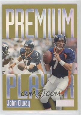 1997 Skybox Premium - Premium Players #15 PP - John Elway