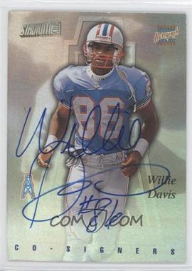 1997 Stadium Club - Co-Signers #CO81 - Lake Dawson, Willie Davis
