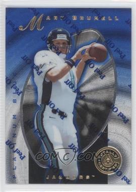 1997 Totally Certified - [Base] - Platinum Blue #12 - Mark Brunell /2499