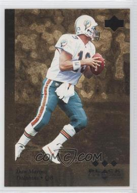 1997 Upper Deck Black Diamond - [Base] - Gold #158 - Dan Marino