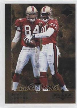 1997 Upper Deck Black Diamond - [Base] - Gold #38 - Jerry Rice