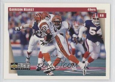 1997 Upper Deck Collector's Choice Team Sets - San Francisco 49ers #SF13 - Garrison Hearst