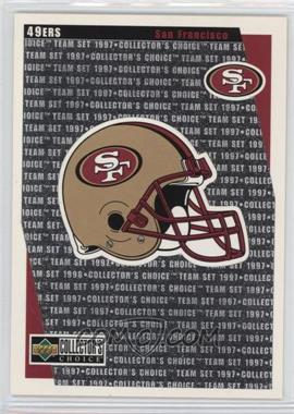 1997 Upper Deck Collector's Choice Team Sets - San Francisco 49ers #SF14 - San Francisco 49ers Team