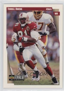 1997 Upper Deck Collector's Choice Team Sets - San Francisco 49ers #SF3 - Terrell Owens