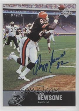 1997 Upper Deck NFL Legends - Autographs #AL-154 - Ozzie Newsome