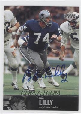 1997 Upper Deck NFL Legends - Autographs #AL-46 - Bob Lilly