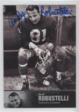 1997 Upper Deck NFL Legends - Autographs #AL-60 - Andy Robustelli