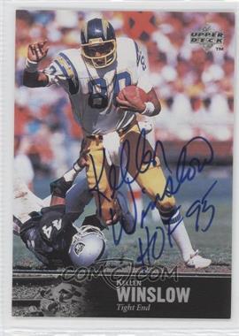 1997 Upper Deck NFL Legends - Autographs #AL-68 - Kellen Winslow