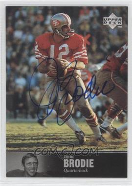 1997 Upper Deck NFL Legends - Autographs #AL-81 - John Brodie