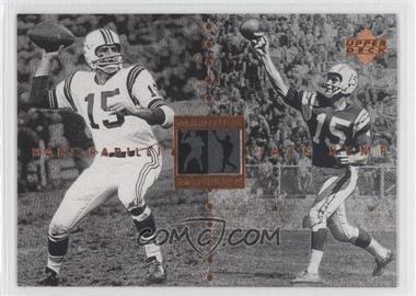1997 Upper Deck NFL Legends - Marquee Matchups #MM28 - Jack Kemp, Babe Parilli