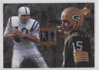 Johnny Unitas, Bart Starr